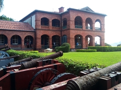 View of the Former British Consulate Residence; Tamsui
