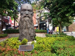 Dr MacKay statue; Tamsui