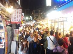 Shilin night market scene
