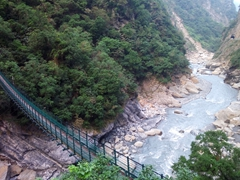 Spectacular views abound in Taroko Gorge, a 19km marble canyon