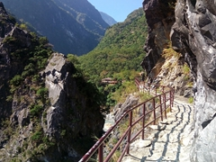 Hiking the Lushui Trail