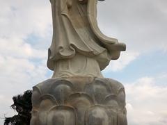 Seaside statue in Hualien