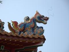 Yin and yang dragon; Lady Linshui