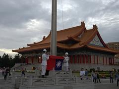 Flag lowering ceremony; Chiang Kai-shek Memorial Hall