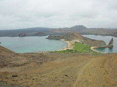 Probably the most photographed vista on Bartolome Island