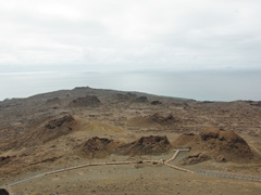 Bartolome Island has a well laid out track that leads to the fantastic look out point