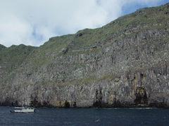 Another view of Wolf Island. Sadly, the only way to reach this island is via an expensive liveaboard SCUBA cruise. The diving here is spectacular and worth the effort and expense