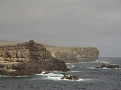 View of Espanola Island from Suarez Point
