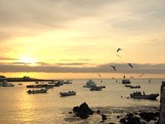 Sunset in San Cristobal