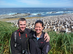 We love Steeple Jason and the amazing black browed albatrosses!