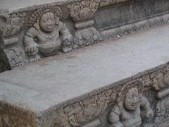 Miniature stone dwarf at Mahasena Palace, Anuradhapura