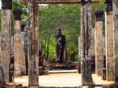 The beautiful ruins of Polonnaruwa