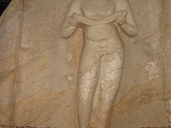 "King Parakramabahu, holding the ""book of law""; Polonnaruwa"