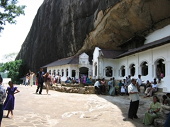 The amazing Dambulla cave complex should not be missed!
