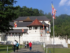 Entrance to the Temple of the Tooth, Kandy