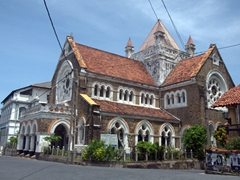 All Saints Church was founded in 1867; Galle's Light House Street