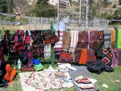 Handicrafts for sale; Paro