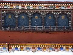 Stupa stone carvings of Buddha