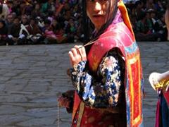 The lead incense burner; Paro tsechu