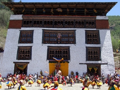 The Paro Tsechu is a must! What a lively local festival
