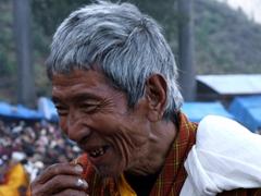 Portrait of a Tsechu participant