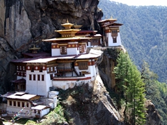 The hike to view the Tiger's Nest Monastery is worth it!