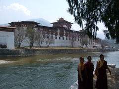 Punakha Dzong with Mo Chhu (female river) in the foreground