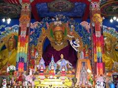 Guru Rinpoche at Zangto Pelri Lhakhang, a private chapel built in 1990 by Dasho Aku Tongmi