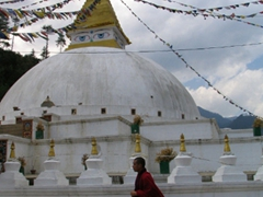 Begana Choten, Nepal style stupa near Thimpu