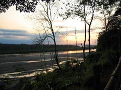 Sunset over Chitwan National Park