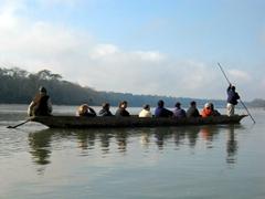 Boat ride at Chitwan National Park