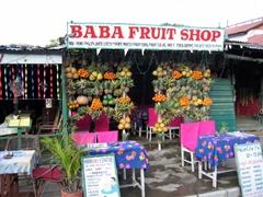 Fresh juice at Baba Fruit Shop, Pokhara