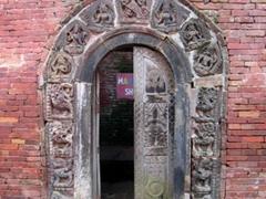Intricately carved doorway, Patan Durbar Square
