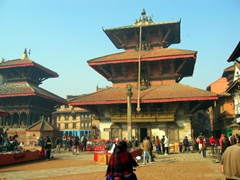 Patan Durbar Square is a center for Buddhist and Hindu culture, and is full of temples, monasteries, and places to worship