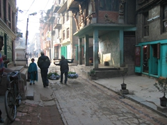 Patan is Nepal's 3rd largest city and wandering its back alleys is a delight
