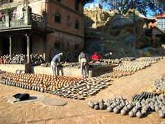 View of Potters Square, Bhaktapur