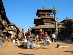 Bhaktapur Durbar Square scene