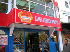 Fancy a burger? Kathmandu has a wide selection of western style restaurants and food