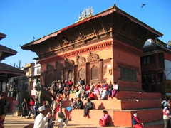 Kathmandu Durbar Square is one of 3 Durbar Squares in the Kathmandu Valley (all of them are UNESCO world heritage sites)