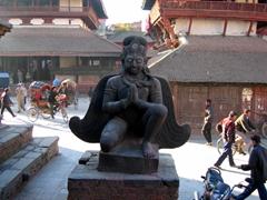 Winged angel, Kathmandu Durbar Square