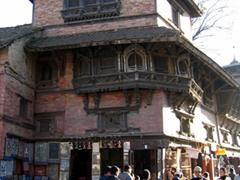 Interesting architecture as we stumble upon Kathmandu's Durbar Square