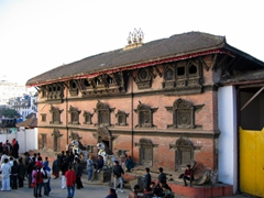 The temples and palaces of Kathmandu Durbar Square have undergone extensive renovations throughout the many years of neglect or natural decay. This open air museum is definitely worth a visit