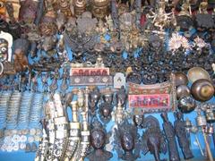 Souvenirs for sale in Kathmandu's Durbar Square