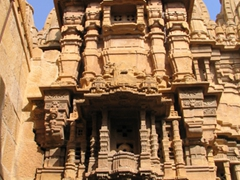 Exterior of one of Jaisalmer's Jain Temples