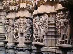 Beautiful carvings, Jaisalmer's Jain temple