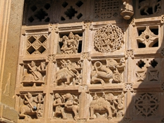 Jaisalmer's Jain temples are chock full of detailed carvings!