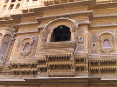 Exterior of a traditional Haveli; Jaisalmer