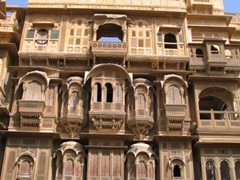 View of the Patwon-Ki-Haveli; Jaisalmer