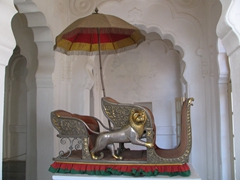 Gold and Silver throne (for royal rides atop an elephant!); Jodhpur fort
