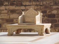 Marble throne, Meherangarh Fort